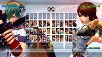 Updated KOF 14 Character Select image #1