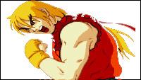 Visual history of Street Fighter's Ken image #5