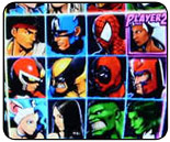 Random select option in Marvel vs. Capcom 3, with options
