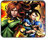 Phoenix vs. Chun-Li Marvel vs. Capcom 3 showdown