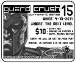 Guard Crush 15 Marvel vs. Capcom 3 & Super Street Fighter 4 AE results, stream archive