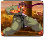 Filters in Street Fighter 3 Online Edition applied on per-character basis