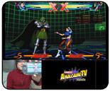Vita version of Ultimate Marvel vs. Capcom 3 interacting w/ PS3, viewable hit boxes replay