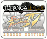 Topanga Super Street Fighter 4 Arcade Edition v2012 round robin results, schedule