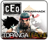 CEO 2012, Dreamhack Energizer Fighting Championship and Topanga B League - weekend tournament preview