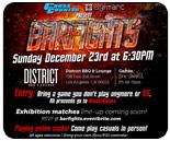 Cross Counter presents Bar Fights stream, Knives vs. Infrit, Gootecks vs. Jr. Rodriguez and more