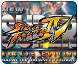 Street Fighter 4 questionnaire requests per character, suggested changes for Dudley, Juri, Cody, Sagat and Fei Long