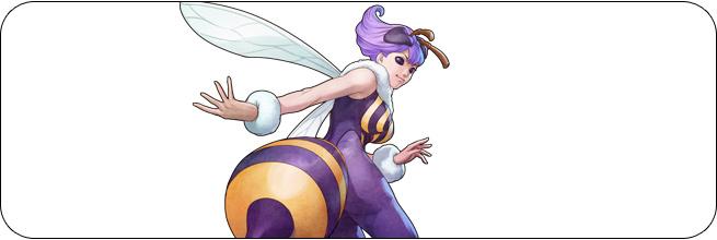 Q-Bee Darkstalkers 3 Moves  Q Bee Darkstalkers