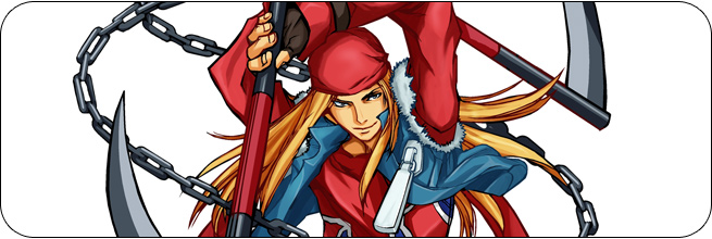 Axl Low Guilty Gear XX Accent Core Plus Moves, Combos, Strategy Guide
