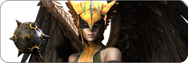 Hawkgirl Injustice: Gods Among Us Moves, Combos, Strategy Guide