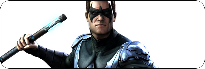 Nightwing Injustice: Gods Among Us Moves, Combos, Strategy Guide