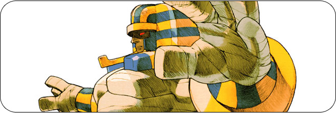 Anakaris moves and strategies: Marvel vs. Capcom 2