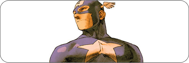 Captain America moves and strategies: Marvel vs. Capcom 2