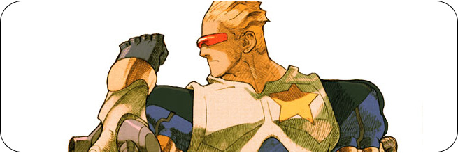 Captain Commando moves and strategies: Marvel vs. Capcom 2