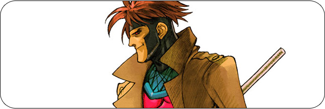 Gambit moves and strategies: Marvel vs. Capcom 2