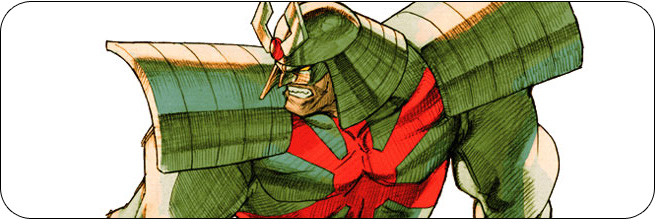 Silver Samurai moves and strategies: Marvel vs. Capcom 2