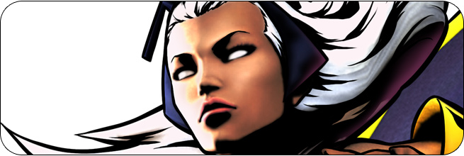 Storm Marvel vs. Capcom 3 Moves, Combos, Strategy Guide