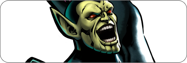 Super-Skrull Marvel vs. Capcom 3 Moves, Combos, Strategy Guide