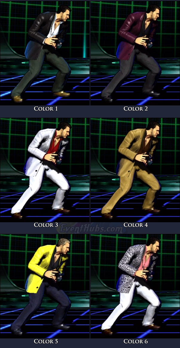 Frank West's main costume colors in Marvel vs. Capcom 3