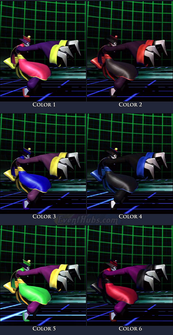 Hsien-Ko's main costume colors in Marvel vs. Capcom 3