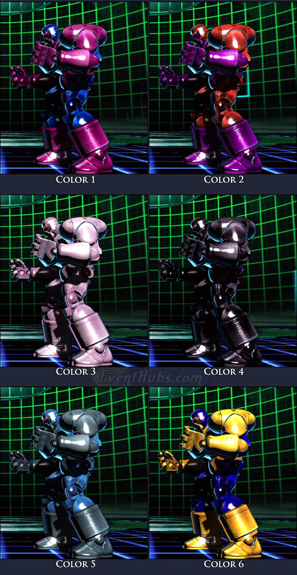 Sentinel's main costume colors in Marvel vs. Capcom 3
