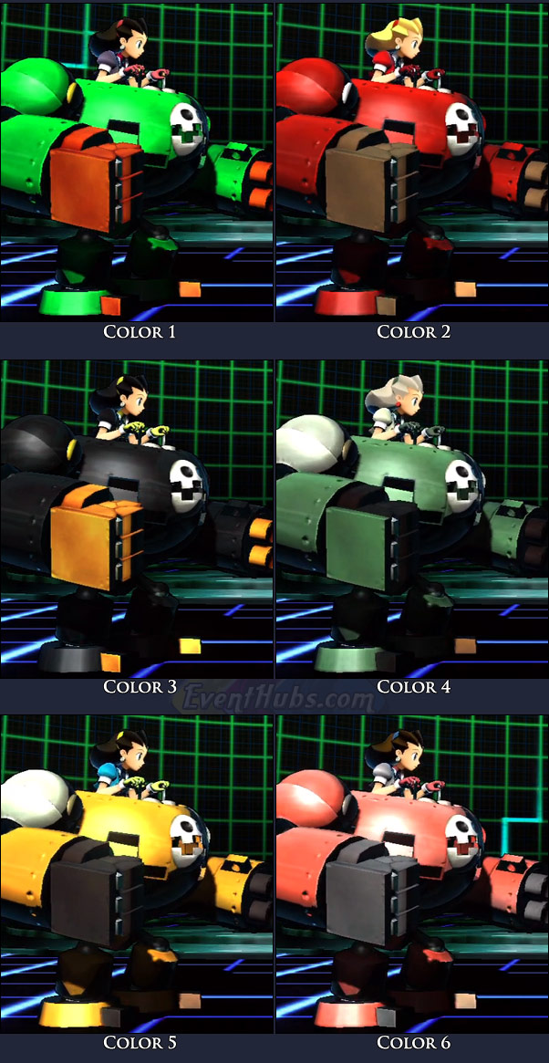 Tron Bonne's main costume colors in Marvel vs. Capcom 3