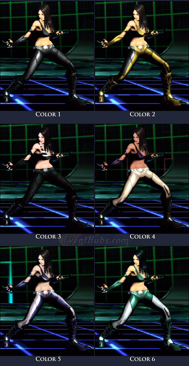 X-23's main costume colors in Marvel vs. Capcom 3