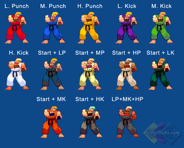 Ken's color guide