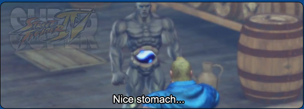 Super Street Fighter 4 rivals conversation transcript