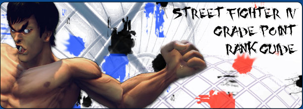 Grade Point Rank Guide, Street Fighter 4 Championship Mode