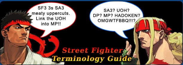 Street Fighter terminology, acronyms, lexicon and glossary
