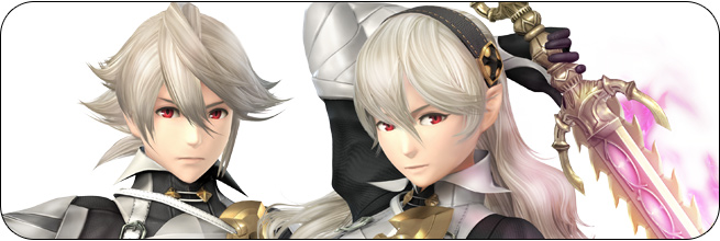 Corrin Super Smash Bros. Wii U artwork