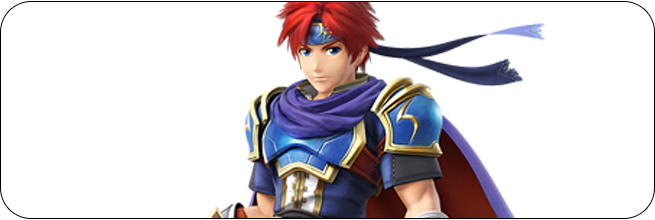 Roy Super Smash Bros. Wii U artwork