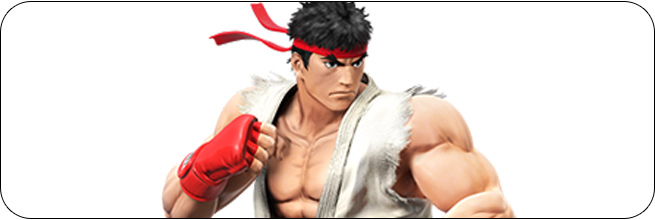 Ryu Super Smash Bros. Wii U artwork