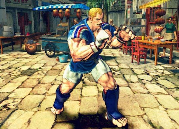 Street Fighter fighting games