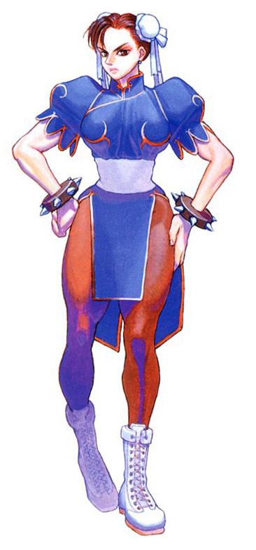 Chun Li Artwork 7 Street Fighter 2