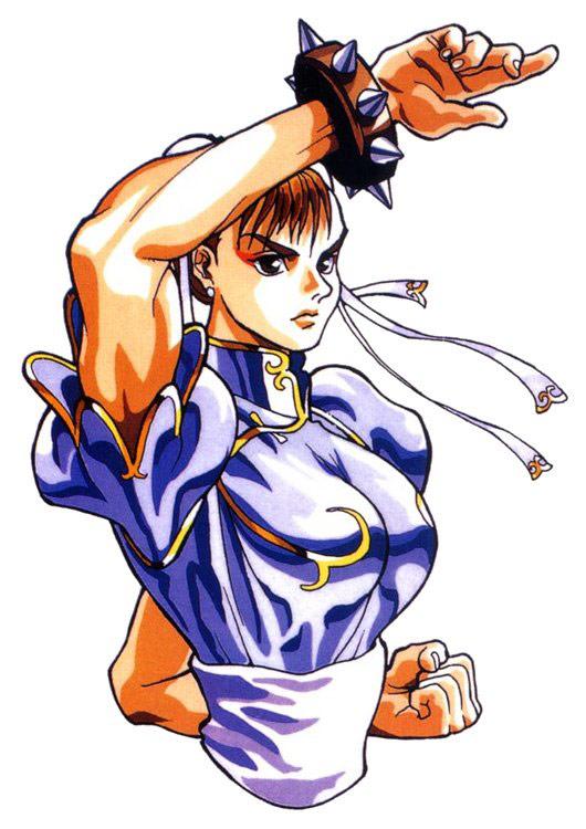 Chun Li Artwork 9 Street Fighter 2