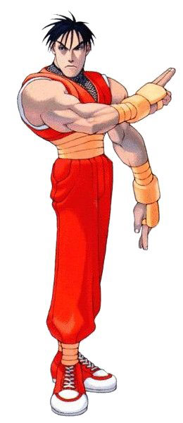 Guy artwork #3, Street Fighter Alpha Street