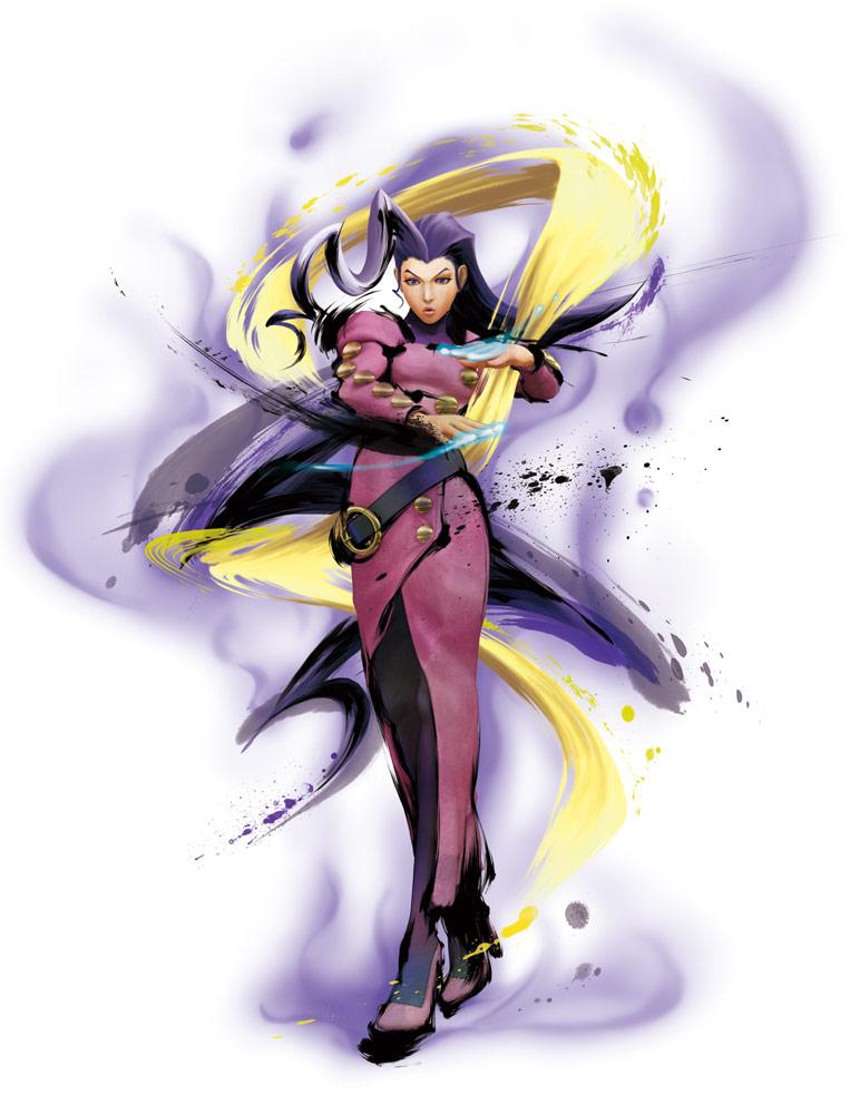 Rose artwork #1, Street Fighter 4