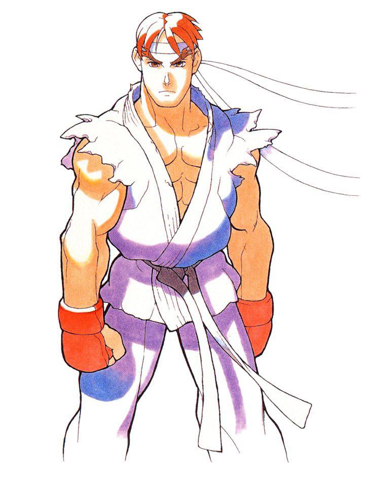 Ryu Artwork 2 Street Fighter Alpha