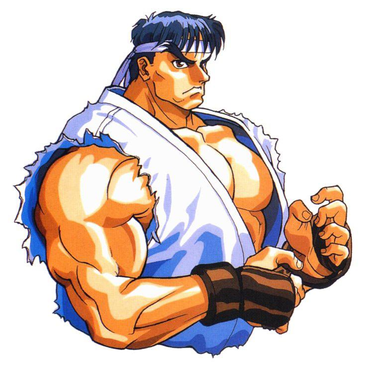 Ryu Artwork 9 Street Fighter 2
