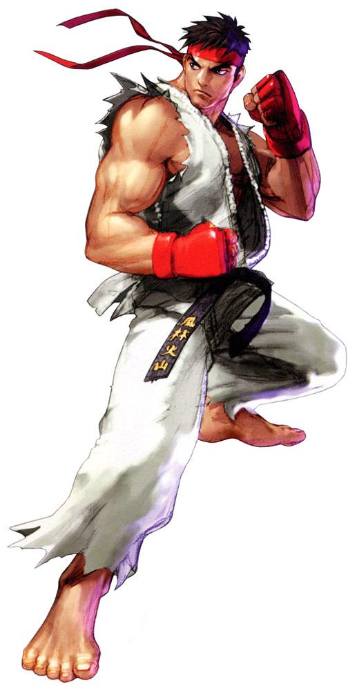 Ryu Artwork 10 Street Fighter 2