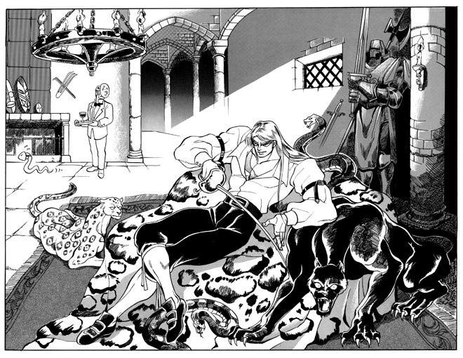 Vega artwork #4, Street Fighter 2