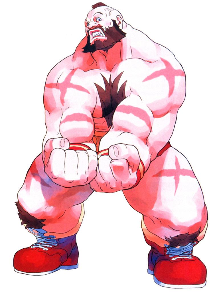 Zangief Artwork 5 Street Fighter Alpha