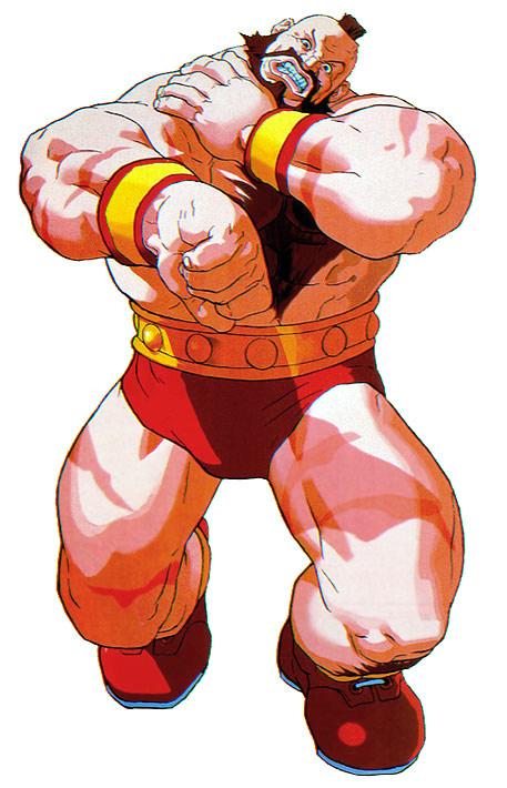 Zangief Artwork 7 Street Fighter Alpha