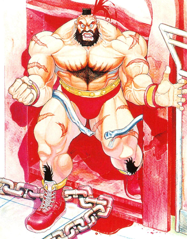 Zangief Artwork 3 Street Fighter 2 High Resolution
