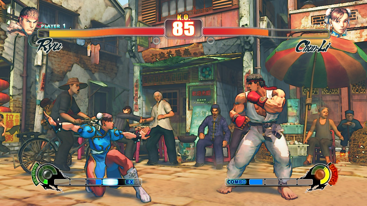 PC Street Fighter 4 another screen shot in poster mode