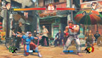 PC version of Street Fighter IV in the 'Watercolor' shader rendering mode
