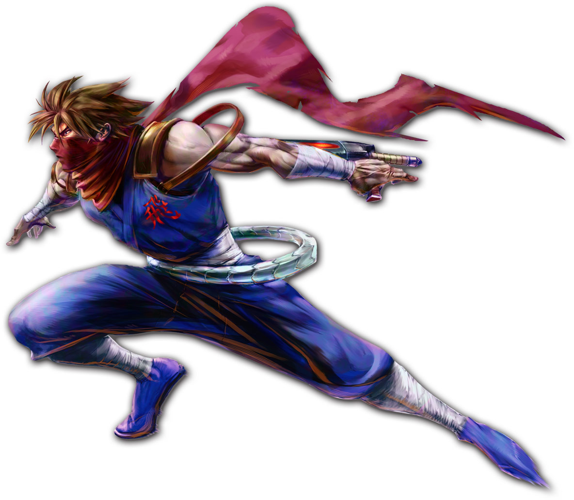 Strider artwork: Marvel vs. Capcom 2