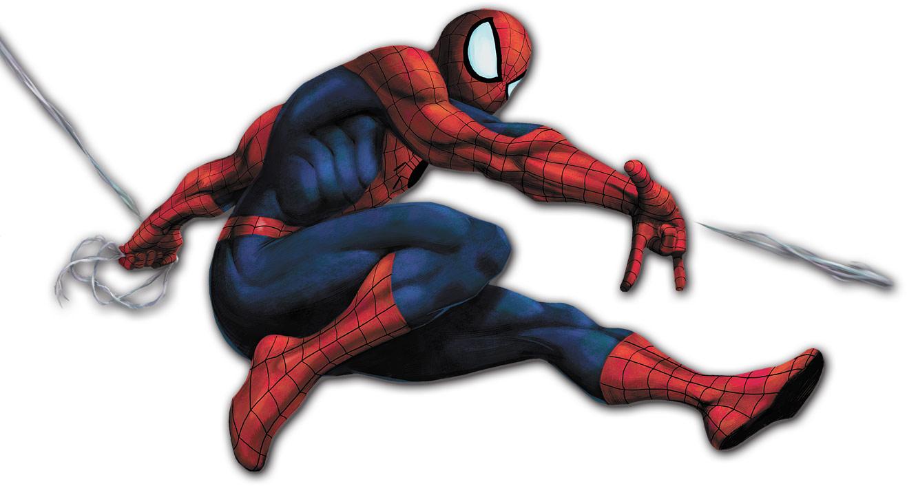 Spider-Man artwork: Marvel vs. Capcom 2
